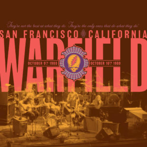 Grateful Dead – The Warfield, San Francisco, CA 10/9/80 & 10/10/80