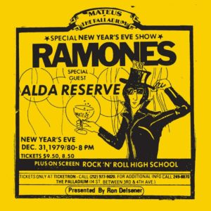 Ramones – Live at the Palladium, New York, NY (31/12/79)