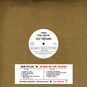 Bob Dylan – Blood On The Tracks – Original New York Test Pressing