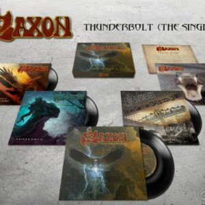 Saxon – Thunderbolt – The Singles