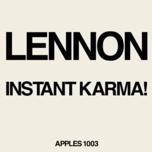 Johnn Lennon – Instant Karma
